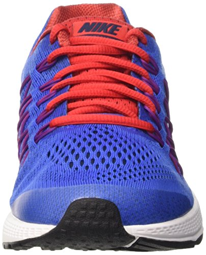 Nike Jungen Zoom Pegasus 32 (Gs) Rennschuhe Bleu / Plateado (Rcr Blue / Mtllc Slvr-Unvrsty Rd)