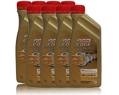 8 x 1 Litre Huile Castrol Edge Professional 0W-30 BMW LL04, Longlife 04 pas cher
