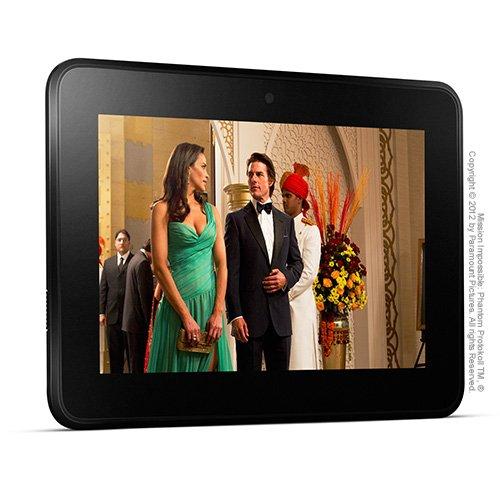 Kindle Fire HD 7, 17 cm (7 Zoll), Dolby-Audio-Technologie,  Dualband-WLAN über zwei Antennen, 16 GB - Mit Spezialangeboten [Vorgängermodell]