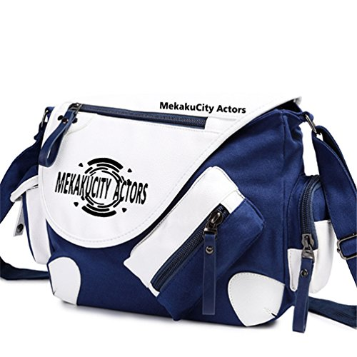 Yoyoshome giapponese anime Cosplay zaino Zaino messenger bag borsa a tracolla nero Fullmetal Alchemist Kagerou Project5