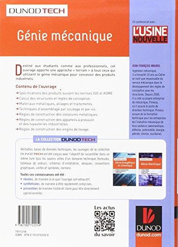 Génie mécanique - Conception, Matériaux, Fabrication, Contrôle: Conception, Matériaux, Fabrication, Applications industrielles