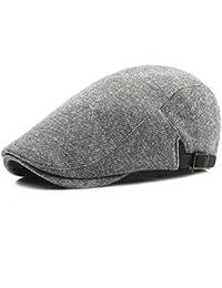 bc9aa46375c02 TYGRR Otoño Invierno Neutral Sombrero De Punto Moda Boina Al Aire Libre  Caliente Gorra De Béisbol