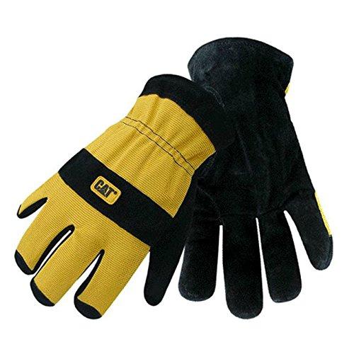 Cat cat012222X Therm gefüttert Split Leder Palm Handschuhe, X-Large (Cat-split-leder)