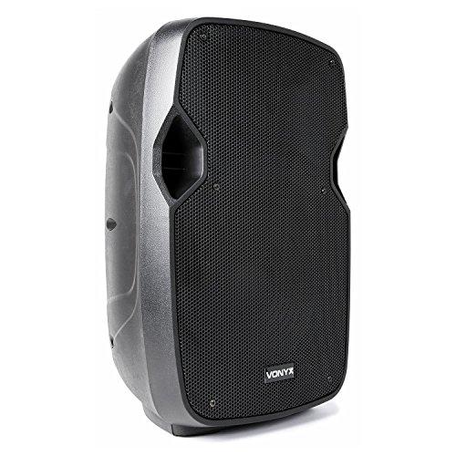 "Vonyx AP1000ABT MP3 Hi-End Aktiv Lautsprecher 10"" 400W-Verstärker Bluetooth USB"