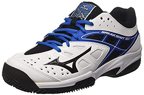 Mizuno 61gc1725, Chaussures de Tennis homme - multicolore - Multicolore (White/Black/DirectoireBlue), 43 EU EU