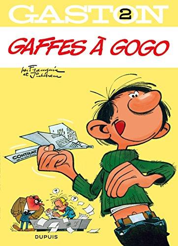 Gaston - tome 2 - Gaffes à gogo