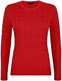 1c69dcb967 Ralph Lauren Womens Crew Neck Cable Knit Jumper