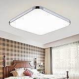 HENGDA 18W LED Flur Deckenleuchte Warmweiß 3840lm Esszimmer Wohnzimmer Modern Energiespar Deckenlampe 230v
