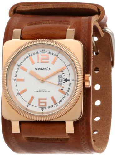 Nemesis BBIN062S - Reloj de pulsera hombre, color Marrón