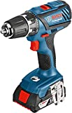'Bosch GSR 18 – 2-LI Plus Pistol Grip Drill Lithium-Ion (Li-Ion) 2 Ah 1500 g – Cordless Combi Bohrer (Pistol Grip Drill, Drilling, Screwdriving, 1/2, 8 mm, 3.8 cm, 1.3 cm)