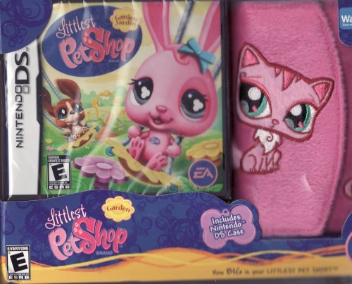 Littlest Pet Shop Winter Hiver for Nintendo DS LIMITED EDITION Set Includes: Game & Fuzzy DS Case by Nintendo - Pet Shop Ds-littlest