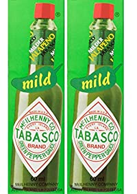 Cantina Tabasco Green Sauce - 60 ml(Pack of 2)