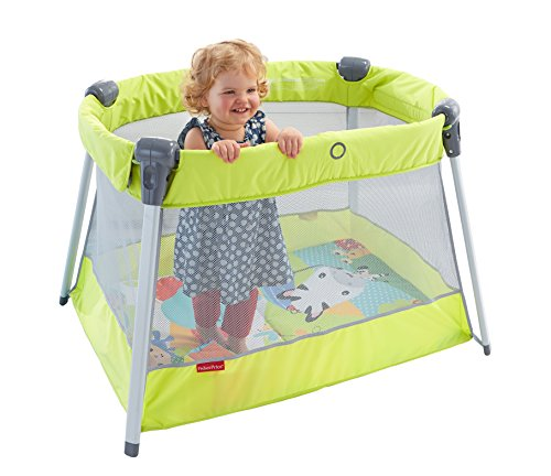 Baby gear mattel parque cuna de viaje fisher price - Fisher price cuna ...