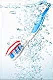 Posterlounge Forex-Platte 120 x 180 cm: Zahnbürste von Alex Kock