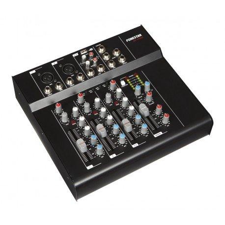 MESA DE MEZCLAS FONESTAR SM-2400U USB/MP3