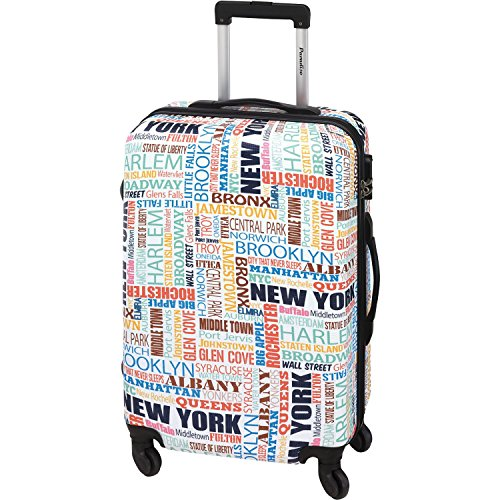 Check In Paradise New York 4-Rollen-Trolley L 67 cm bunt