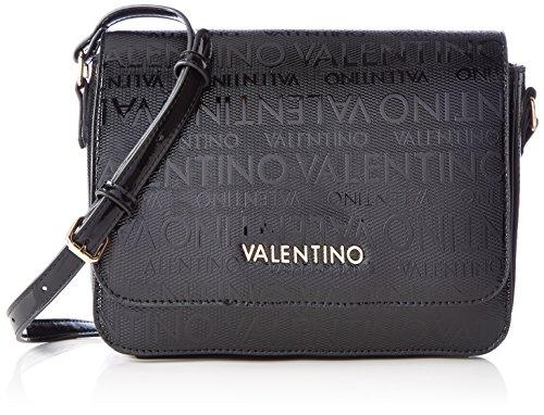 Mario Valentino Valentino by Damen Clove Tornistertasche, Schwarz (Nero), 9.0x18.0x24.0 cm