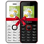 This combo of I KALL K66 is a combination of two mobiles and comes in most reasonable package. In a single box you will get two mobiles, 2 batteries, 1 charger.