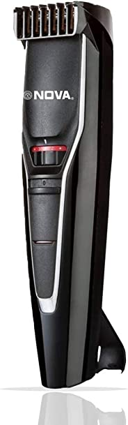 Nova NHT 1091 20 Length Settings Trimmer for Men (Black)