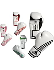 """'Adidas Gants de boxe femme """"Box Fit Blanc/Noir adibl04/à"""