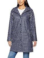 Joules Women's Rain Dance Coat, Blue (French Navy Oyester Catcher), 18