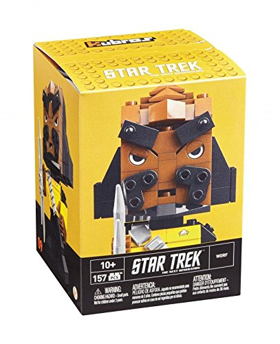 Mega Bloks Star Trek Collectable figures, Color Yellow / Black / brown. (Mattel Spain DTW68)