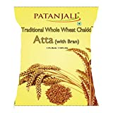 #6: Patanjali Traditional Whole Wheat Chakki Atta with Bran, 10kg.