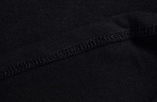 Still-Shirt/ Nursing Top, KUCI® Damen Still-Tank Top Leibchen Schlaf-BH für das Stillen Umstandstop Black+Light Green Dot/2Pack