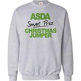 FUNNY CHRISTMAS JUMPER ASDA SMART PRICE UNISEX XMAS SWEATSHIRT MENS CHISTMAS GIFT 2015