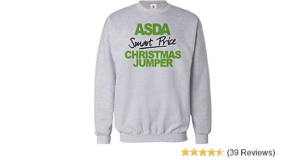 f688899509fc FUNNY CHRISTMAS JUMPER ASDA SMART PRICE UNISEX XMAS SWEATSHIRT MENS  CHISTMAS GIFT 2015: Amazon.co.uk: Clothing