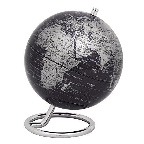 emform Mini-Globus, Galilei Black, Metall & Kunststoff, 130 x 170 mm