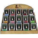 Expositor Infusiones en Pirámides - 15 sabores - 20 unidades por sabor + cartas