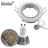 Generic Warm White, 6W Dimmable : Recess...