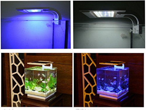 RunQiao Smart Acuario LED 21cm 6W luz RGB 3modelos