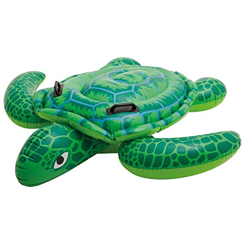 Intex - Tortuga hinchable, 150 x 127 cm, color verde (57524NP)