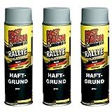 Motip Dupli - Fast Finish Haftgrund Grundierung Rostschutz Spraydose 500ml grau 3 Stück