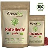 Rote Beete Pulver BIO (500g) | Rohkostqualität | Beetroot Powder organic | vom Achterhof
