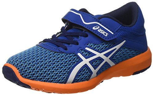 Asics Fuzex Lyte 2 Ps, Scarpe da Ginnastica Unisex – Bambini Multicolore (Imperial/White/Hot Orange)