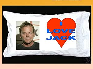 JACK BAUER PILLOWCASE KIEFER SUTHERLAND