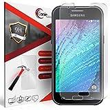 Conie 9H3038 9H Panzerfolie Kompatibel mit Samsung Galaxy J1, Panzerglas Glasfolie 9H Anti Öl Anti Fingerprint Schutzfolie für Galaxy J1 Folie HD Clear