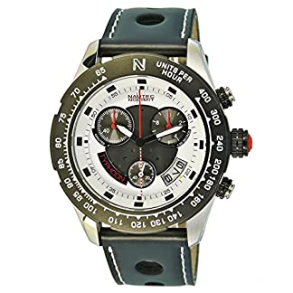 Nautec-No-Limit-Herren-Armbanduhr-XL-Typhoon-2-Chronograph-Quarz-Kautschuk-TY2-QZ-RBSTBKWH-WH