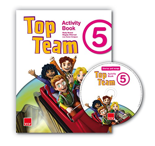 Top Team 5 Activity Book + Cd Stories And Songs - 9788468221885