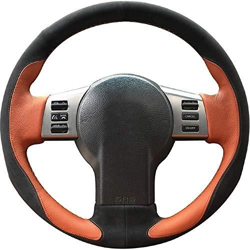 FANGPAN Leder Auto Lenkradbezug, für Infiniti FX FX35 FX45 2003-2008, für Nissan 350Z 2003-2009 (Fx35 2003 Infiniti)