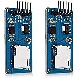 kwmobile 2x Module Carte SD pour Arduino et autres microcontrôleurs