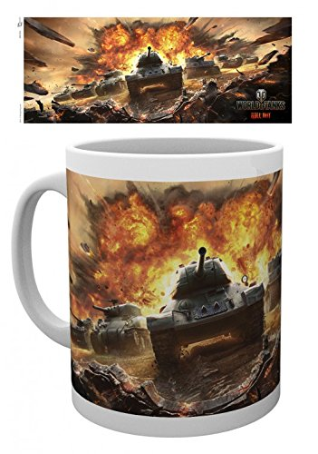World Of Tanks - Roll Out Tazza Da Caffè Mug (9 x 8cm)