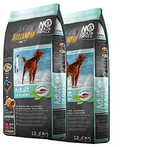 2 x 12,5 kg Belcando ADULT GRAIN-FREE Ocean getreidefreies Hundefutter trocken