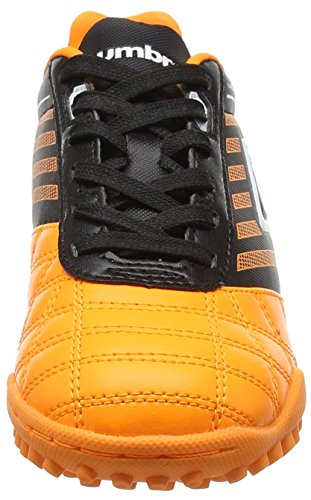 Umbro Medusæ Club Tf Jnr, Chaussures de Football Entrainement Garçon Orange (Epy Orange Pop/White/Black)