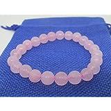 Pink Rose quartz Beads Bracelet for Love & Relationship & Marriage - Fengshui Vastu