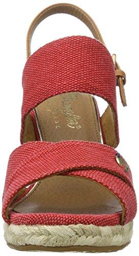 Wrangler - Brava Cross, Sandali Donna rosso (rosso)