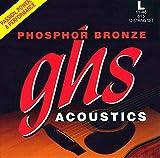 GHS Saiten 61512-saitigen Set Phosphor Bronze Acoustic Gitarre Saiten, Light